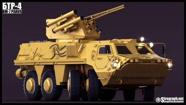 BTR-4_Modeling_Front
