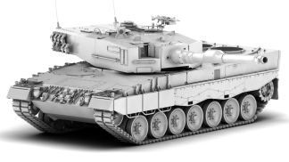 Leopard2A4_front_clay