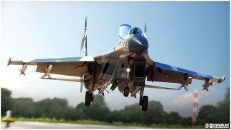 Su-27SKM_Land