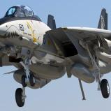 F-14D-Landing