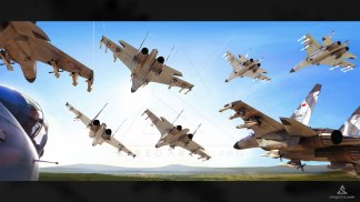 Su-27-Formation