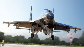 Su-27SKM-Land